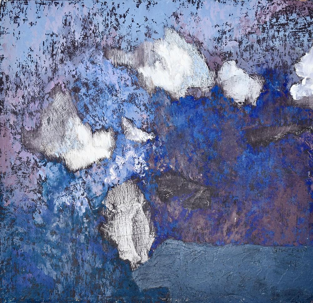 3. 'Evening Light' oil on canvas - Michael Sheppard
