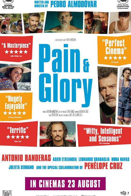 C Fylm presents: Pain & Glory (2019) Film Club At Home