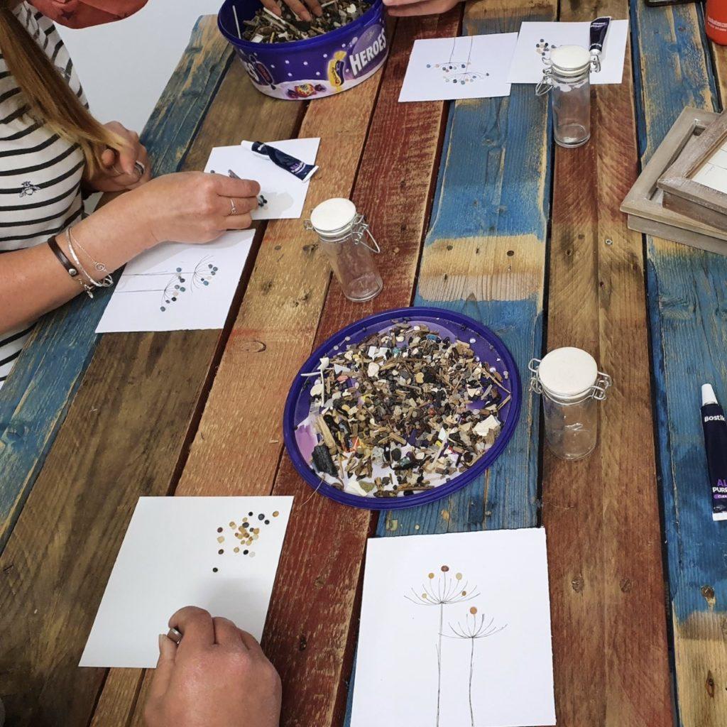 Marine Debris Art Workshop