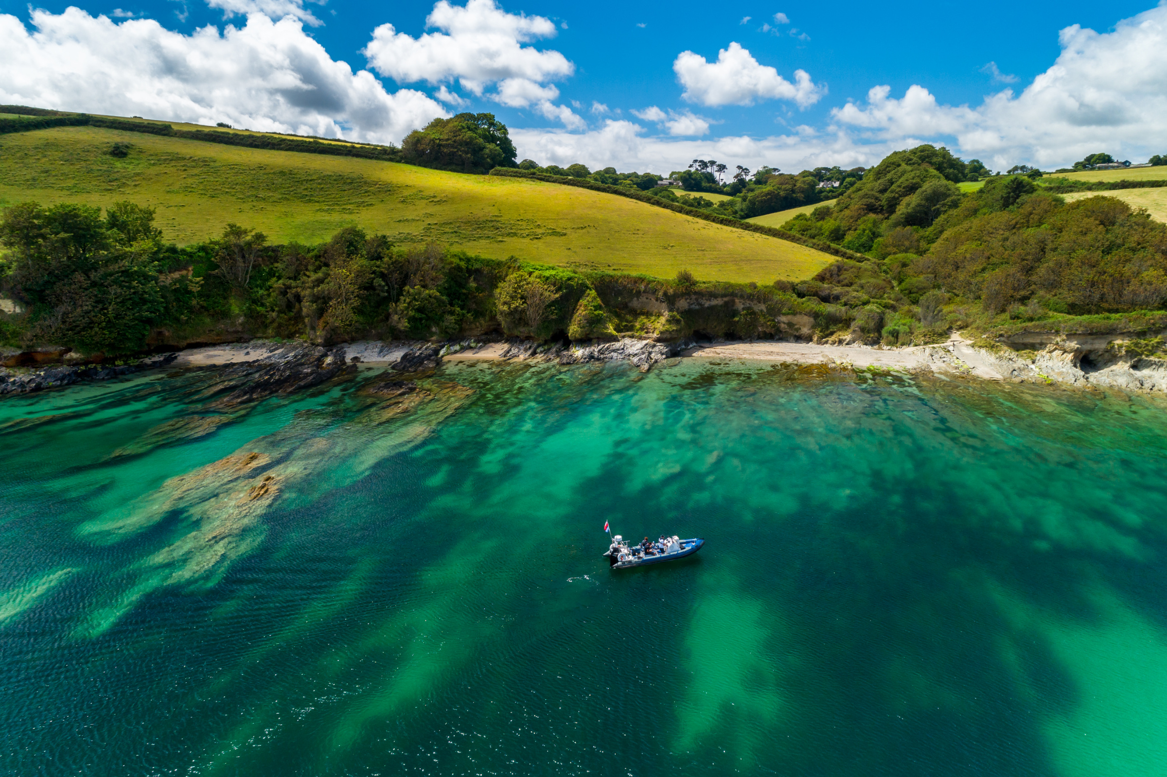 Fast Boat Tours - Falmouth Bay