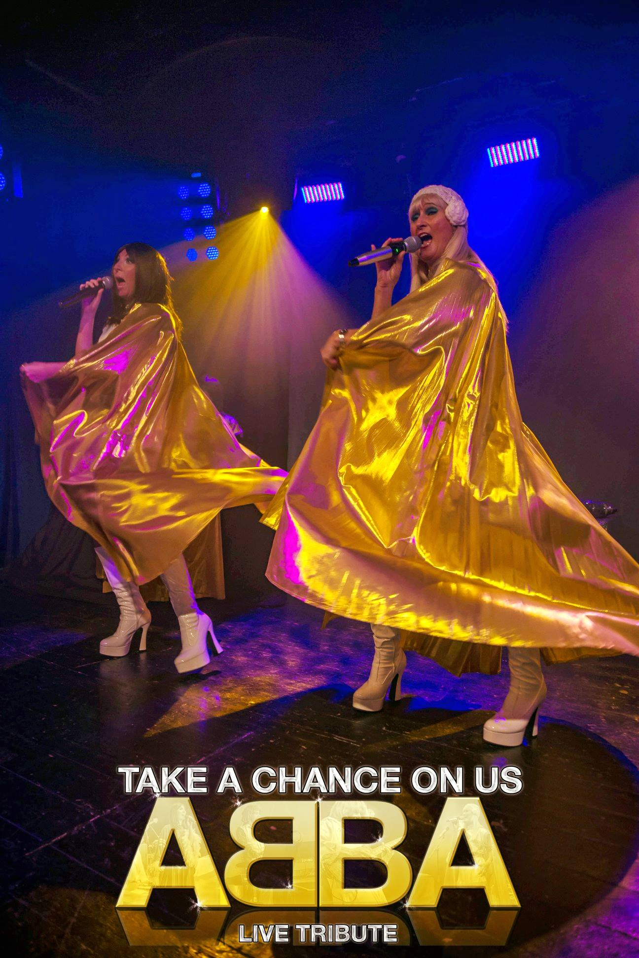 ABBA TRIBUTE ..TAKE A CHANCE ON US
